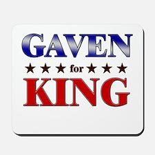 GAVEN for king Mousepad