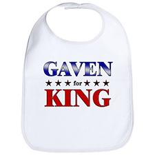 GAVEN for king Bib