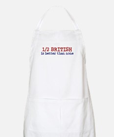 Half British is Better Than none BBQ Apron