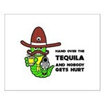 Funny Tequila Small Poster