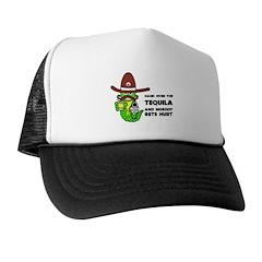 Funny Tequila Trucker Hat