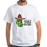 Funny Tequila White T-Shirt