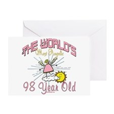 Angelic At 98 Greeting Card