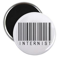 Internist Barcode Magnet
