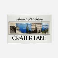 Crater Lake Americasbesthistory.c Rectangle Magnet