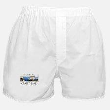 Crater Lake Americasbesthistory.com Boxer Shorts