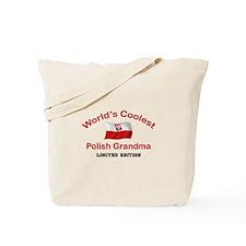 Coolest Polish Grandma Tote Bag