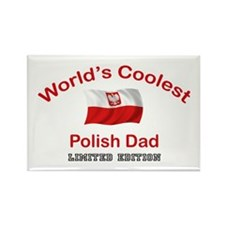 Coolest Polish Dad Rectangle Magnet