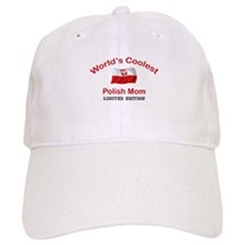 Coolest Polish Mom Baseball Cap