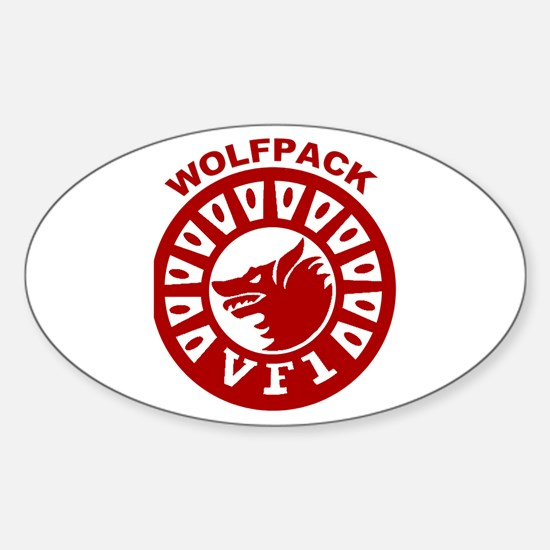 VF 1 Wolfpack Oval Decal