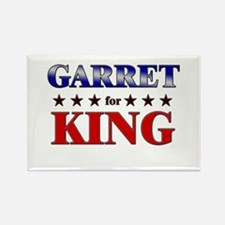 GARRET for king Rectangle Magnet
