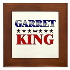 GARRET for king Framed Tile