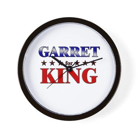 GARRET for king Wall Clock