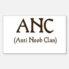 ANC (anti noob clan) Rectangle Decal
