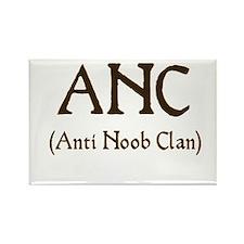 ANC (anti noob clan) Rectangle Magnet