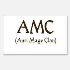 AMC (anti mage clan) Rectangle Decal