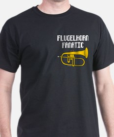 Flugelhorn Fanatic Pocket Image T-Shirt