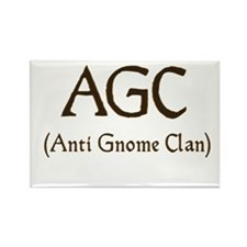 AGC (anti gnome clan) Rectangle Magnet