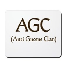 AGC (anti gnome clan) Mousepad