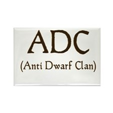 ADC (anti dawrf clan) Rectangle Magnet