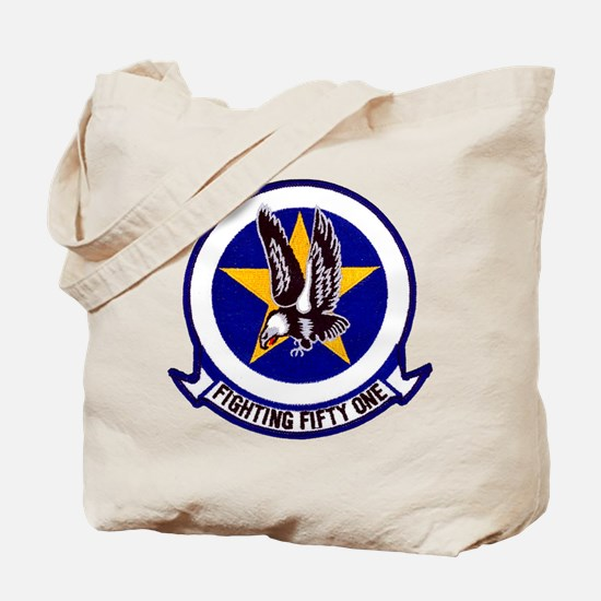 VF 51 Screaming Eagles Tote Bag