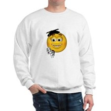 Graduation Smiley Sweatshirt