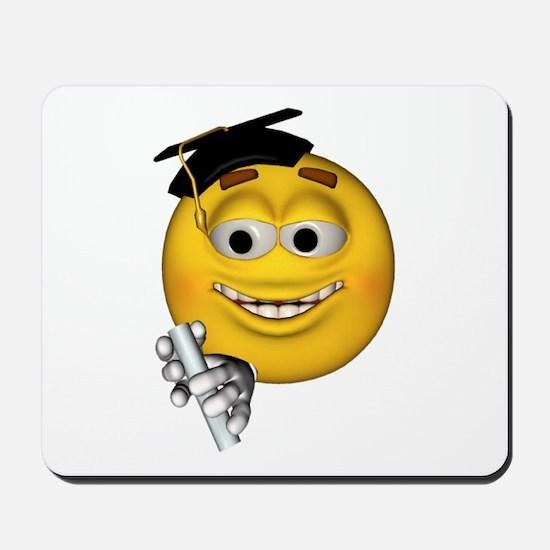 Graduation Smiley Mousepad