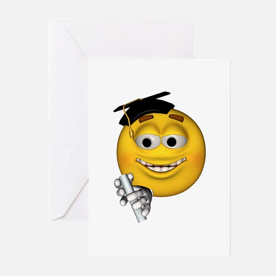 Graduation Smiley Greeting Cards (Pk of 10)