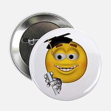 Graduation Smiley Button