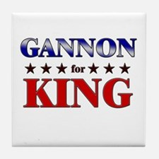 GANNON for king Tile Coaster
