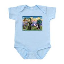 St. Francis & Bernese Infant Creeper