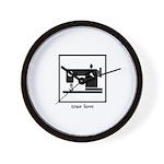 Sewing Machine - True Love Wall Clock