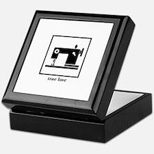 Sewing Machine - True Love Keepsake Box