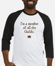 im a member of the guilds  Baseball Jersey