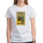Sew For Victory - War Poster Women's T-Shirt