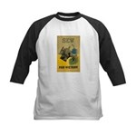 Sew For Victory - War Poster Kids Baseball Jersey