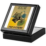 Sew For Victory - War Poster Keepsake Box