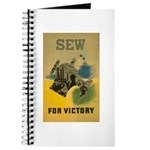 Sew For Victory - War Poster Journal