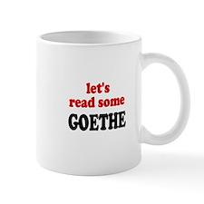Let's Read Goethe Small Mug