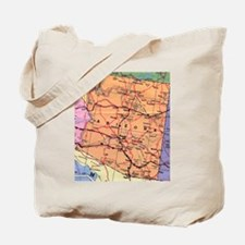 Arizona Map Tote Bag