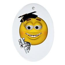 Graduation Smiley Keepsake (Oval)