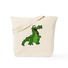 Happy Alligator Tote Bag