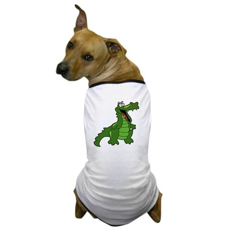 Happy Alligator Dog T-Shirt