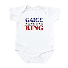 GAIGE for king Infant Bodysuit