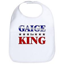 GAIGE for king Bib