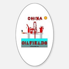 China Oilfields Oval Decal