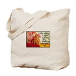 Knitting Fashion - Yarn Tote Bag