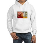 Knitting Fashion - Yarn Hooded Sweatshirt