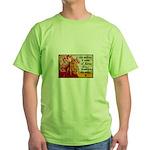 Knitting Fashion - Yarn Green T-Shirt