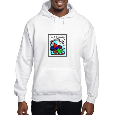 I'm a Knitting Nancy Hooded Sweatshirt